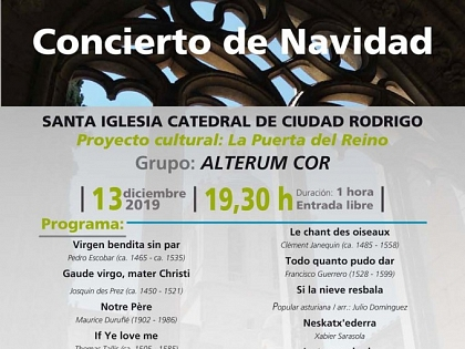 Atlantic Romanesque promotes concert in Ciudad Rodrigo Cathedral
