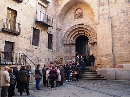 Grande adesão às Jornadas Culturais do Românico Atlântico em San Martín