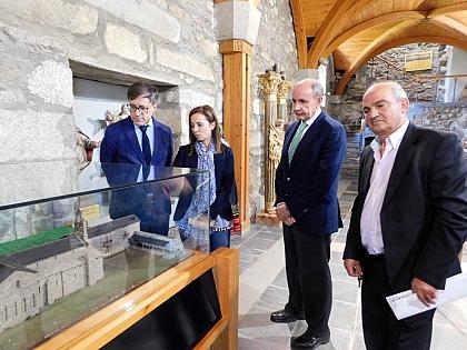 San Martín de Castañeda information point opened