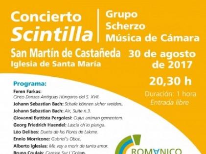 Concerto na Iglesia de Santa María