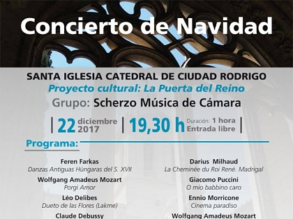 Christmas concert at the Ciudad Rodrigo Cathedral