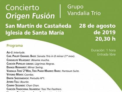 La iglesia de San Martín de Castañeda se llenará de música con Románico Atlántico y Vandalia Trío