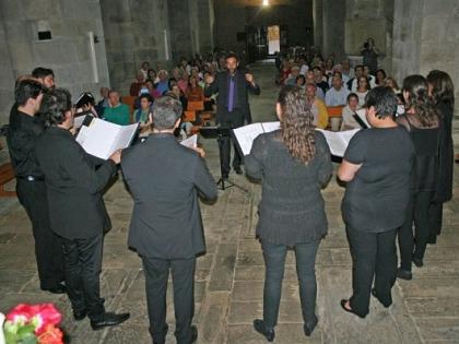 Os vizinhos de San Martín de Castañeda responderam à chamada da música antiga